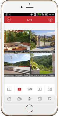 app gestione telecamere