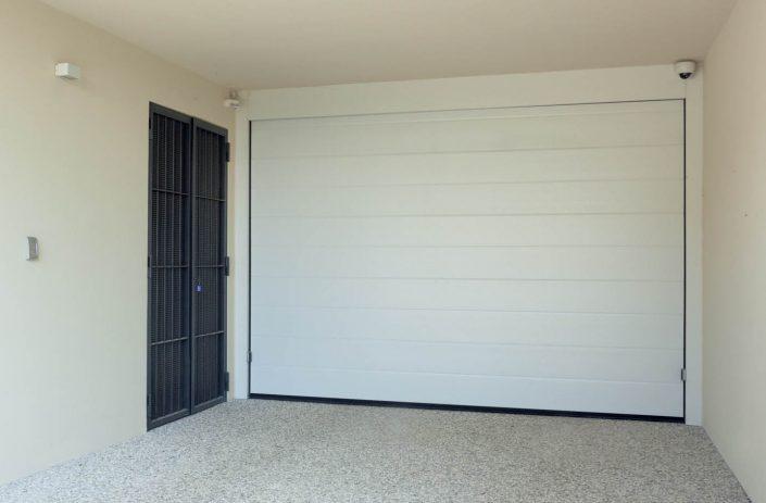 Ingresso garage videorvegliato
